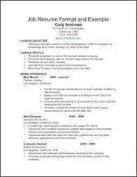 Sample Work Experience Resume – Andaleco