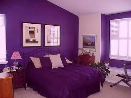 Superb Bedroom Design Purple