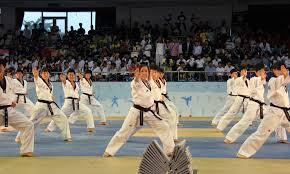 Taekwondo single knuckle double fist