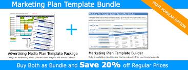 Marketing Plan Bundle Marketing Template Builder And