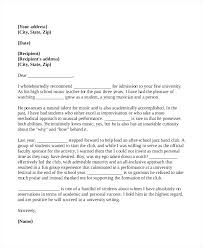 College Recommendation Letter From Family Friend Sample College Reference Letter Template