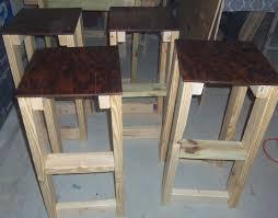 homemade bar stool ideas rustic