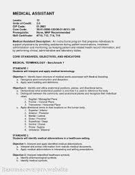 Cover Letter Example Sample Healthcare Resume Objectives