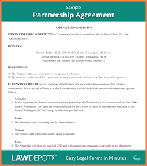 Partnership Agreements 24 Business Partner Agreement Template Bussines Proposal 24 5