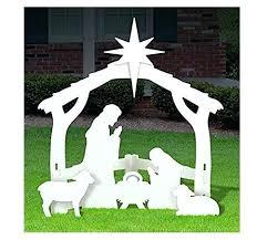 outdoor wooden nativity set outdoor white nativity set large outdoor wooden nativity sets