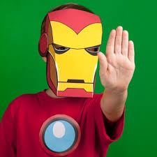 If you want to dress up as him, but not spend money on a store bought mask, there are ways gather your supplies. Iron Man Inspired Mask Disney Family