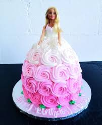 Ricks Bakery Barbie Cake What A Classic Happy Birthday Facebook