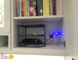 charging station organizer use a three tiered corner shelf to create a diy charging station for