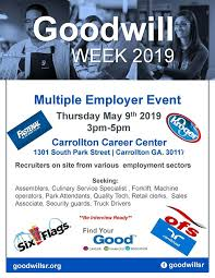 Randstad Carrollton Ga Goodwill Multiple Employer Event Carrollton Alive