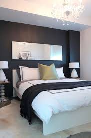 black chalkboard paint wall left untouched in the contemporary bedroom design stephanie brown inc