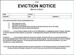 Eviction Letter Template Uk Beauteous Eviction Notice Template Word Pics Free Eviction Notice Forms