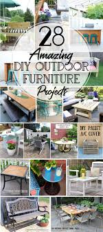 diy round outdoor table. Get Your Yard Ready For Spring With These DIY Outdoor Furniture Projects.  Create The Perfect Diy Round Table