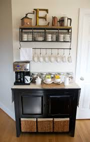 Kitchen Coffee Bar Coffee Bar For The Home Pinterest Kitchen Coffee Bars