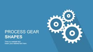 Mechanical Design Ppt Process Gear Shapes For Powerpoint