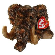 ty beanie baby giganto the wooly mammoth 6 inch bbtoy toys plush trading cards action figures games rel