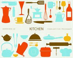 kitchen utensils art. Kitchen Utensils Border Clipart Clip Art Library U