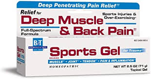 Boericke & Tafel Sports Gel, Relief for Deep Muscle ... - Amazon.com