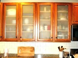 glass kitchen cabinet door replacement frosted doors