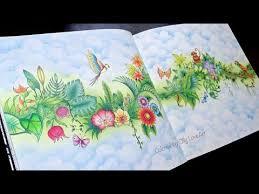 how i color a background in magical jungle coloring book selva magica