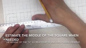 Block Letters On Graph Paper Part 1