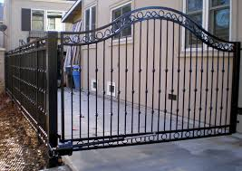 metal fence gate. Unique Metal Custom Wrought Iron Gate U0026 Fencing And Metal Fence