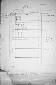 Suggestion Letter Inspiration 48 'Rough Suggestion For A Bookcase' Sketched By Thomas R Marr In A