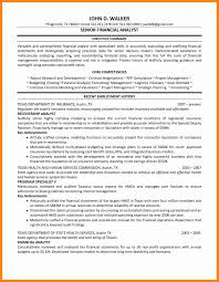 Data Analyst Resume Sample Awesome Senior Financial Analyst Resume ...