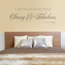 classy fabulous quote wall decals
