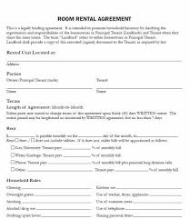 Lease is contract for lessee to pay the lessor for use of an asset. Free Rent Room Contract Template