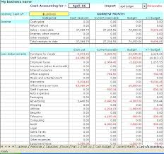 accounting excel template excel accounting spreadsheet templates