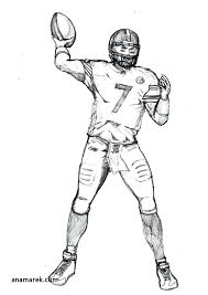 nfl coloring book pages coloring book elegant how to draw football players football player coloring pages