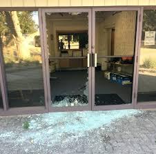 front glass door got shttered glass front door privacy ideas