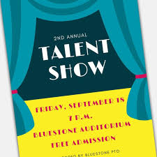 Talent Show Flyer Design Talent Show Flyer Word And Pages Template Set For Pta Pto Church And Other Groups Diy Template