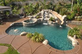 Pool Designs With Rock Slides Pool With Rock Slide Pools Pinterest Swimming Pool