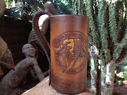 tankard this leather wrapped