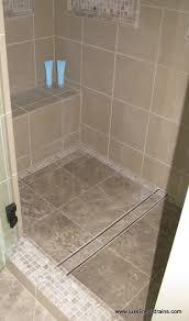 luxe tile insert linear drain bathroom atlanta by luxe linear drains llc