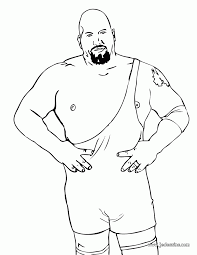 14 Pics Of Kane Wrestling Coloring Pages Wwe Kane Coloring Pages