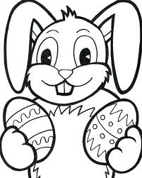 Easter Bunny Printable Coloring Pages Bunny Coloring Sheets Free
