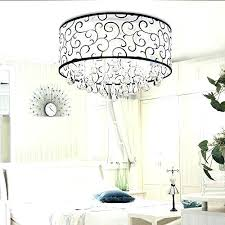 chandelier lamp covers 4 lights flush mounted modern drum ceiling light rain aurore