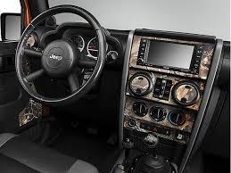 jeep wrangler 4 door interior.  Door Real Tree Camo Dash Kit W Interior Door 0710 Jeep Wrangler JK 4  Inside L