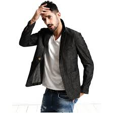 2018 new spring casual thin blazer design men suits fashion jacket slim fit 100 pure cotton plus size men clothing tictail