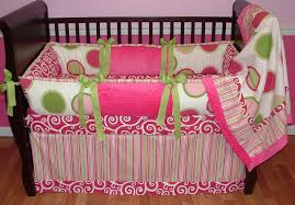 pink twister crib bedding