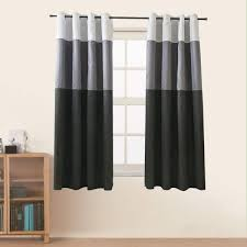 Alibaba.com offers 2,589 curtain shelf products. Amazon Com Jarl Home Three Color Stitching Blackout Curtains 63 Inch Length Artificial Silk Window Lined Double Kitchen Curtains Grommet Top 2 Panels Curtain For Living Room Black 52 X 63 Inch Home Kitchen