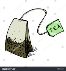 tea bag drawing. Interesting Drawing Tea Bag With Green Label Hand Drawing Sketch Vector Illustration With Bag Drawing D