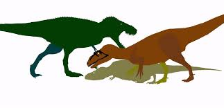 Image result for T rex vs Saurophaganax