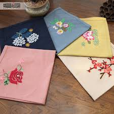 finger diy embroidery handkerchief kit handmade material package beginner antiquity non soviet embroidered cotton handkerchief