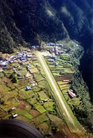 Lukla Approach Chart Lukla Nepal One Of The Worlds Most Extreme Airports