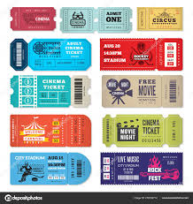 tickets template tickets template events entrance tickets in cinema theater