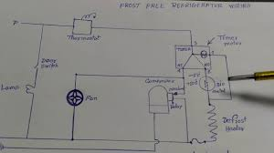 maxresdefault frost free refrigerator wiring diagram in hindi youtube on wiring diagram of frost free refrigerator