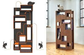 stylish cat furniture. Designer Cat Tower Plush Modern Trees Simple Design Furniture Tree Spectacular Stylish